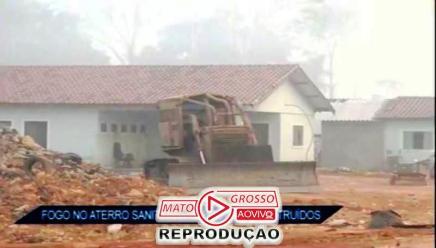incendio no aterro sanitario de alta floresta4