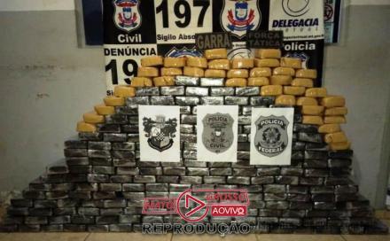 259 kilos de drogas em Nova Bandeirantes