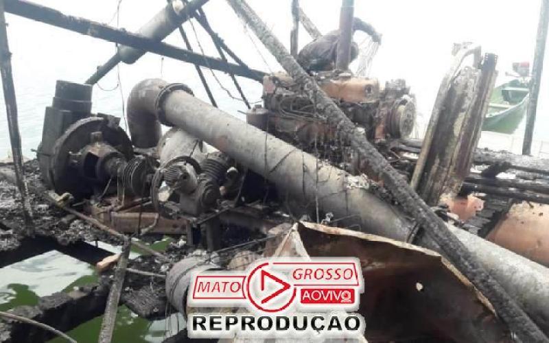 Garimpeiros próximos a Usina de São Manoel, no Rio Teles Pires, são retirados a força e balsas queimadas pelo Ibama 82