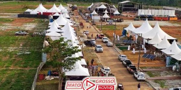 EXPO ALTA FLORESTA | Atrasos, filas gigantes e risco de acidentes são algumas da reclamações no primeiro dia do evento 35