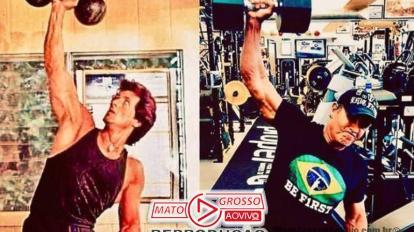"A Lá Brazil | Sylvester Stallone mostra físico e afirma estar ""melhor"" aos 73 anos do que aos 35 18"