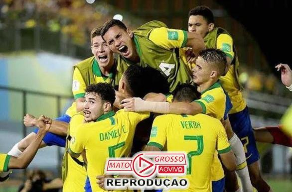 Brasil bate o México e é tetra do sub-17 de 2019.