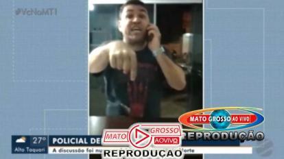 VÍDEO | Presidente da OAB de Peixoto de Azevedo invade a força delegacia de Guarantã e hostiliza investigadora 9