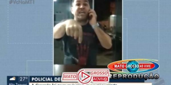 VÍDEO | Presidente da OAB de Peixoto de Azevedo invade a força delegacia de Guarantã e hostiliza investigadora 22