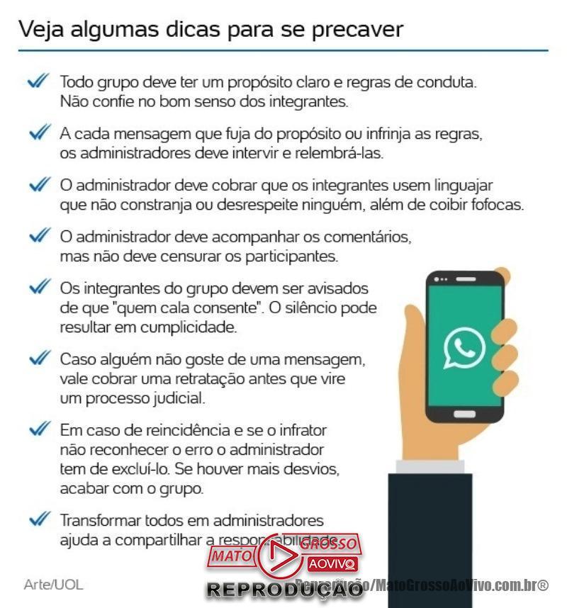 """Atenção, """"Administradores""""! Expulsar participante de grupo de Whatsapp pode dar processo 66"""