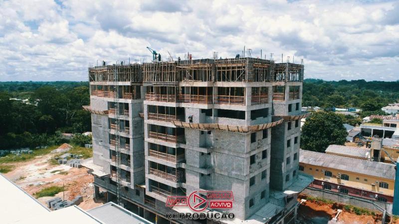 Previsto para ser entregue em julho de 2021, primeiro prédio de Alta Floresta já está com 8 andares construídos 61