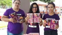 No combate à violência contra a mulher, Conselho dos Direitos da Mulher de Alta Floresta promove panfletagem orientativa 164
