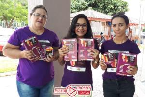 No combate à violência contra a mulher, Conselho dos Direitos da Mulher de Alta Floresta promove panfletagem orientativa 475