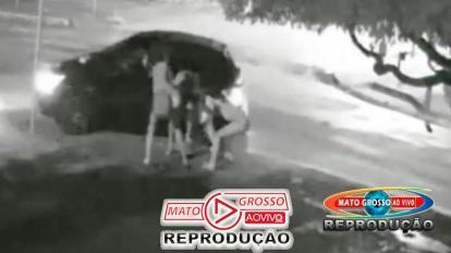 Garota de Programa é agredida violentamente por dois transsexuais durante a madrugada em Alta Floresta 12