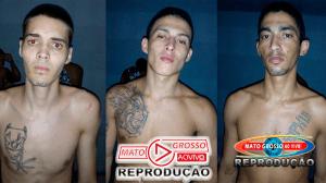 Polícia recaptura 3 dos 7 fugitivos da cadeia municipal de Alta Floresta, 4 mulheres davam suporte aos foragidos 133