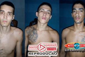Polícia recaptura 3 dos 7 fugitivos da cadeia municipal de Alta Floresta, 4 mulheres davam suporte aos foragidos 67