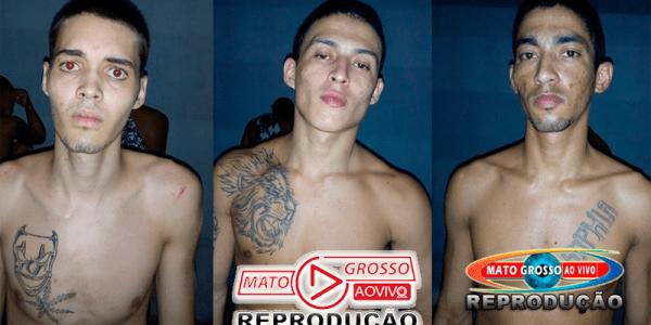 Polícia recaptura 3 dos 7 fugitivos da cadeia municipal de Alta Floresta, 4 mulheres davam suporte aos foragidos 31