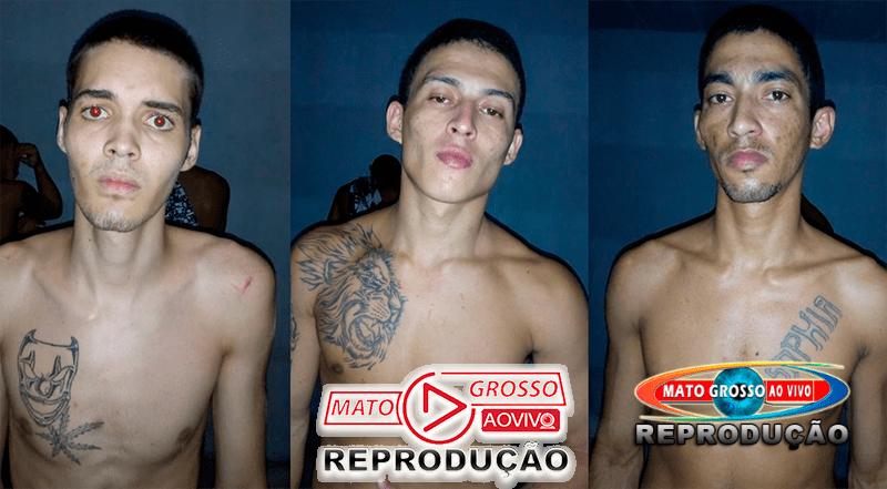 Polícia recaptura 3 dos 7 fugitivos da cadeia municipal de Alta Floresta, 4 mulheres davam suporte aos foragidos 48
