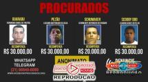 Mato Grosso aprova lei que permite pagar recompensas em dinheiro a quem denunciar criminosos procurados 130