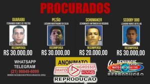 Mato Grosso aprova lei que permite pagar recompensas em dinheiro a quem denunciar criminosos procurados 94