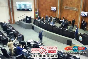 Em sessão noturna, deputados de MT favorecem o governo e aprovam alíquota de 14% contra os servidores, veja os votos 77