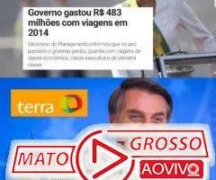 A Dilma gastou R$ 483 milhões com viagens em 2014 e o Bolsonaro gastou R$ 8 milhões? 81