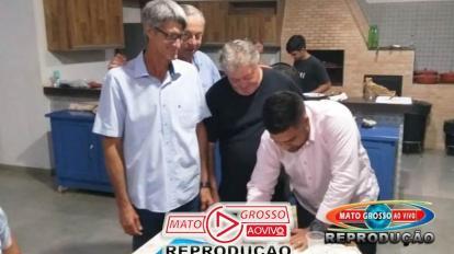 Jornalista Oliveira Dias filia-se no PSDB e partidos escolherão o nome mais cotado para prefeitura de Alta Floresta 11