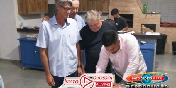 Jornalista Oliveira Dias filia-se no PSDB e partidos escolherão o nome mais cotado para prefeitura de Alta Floresta 27