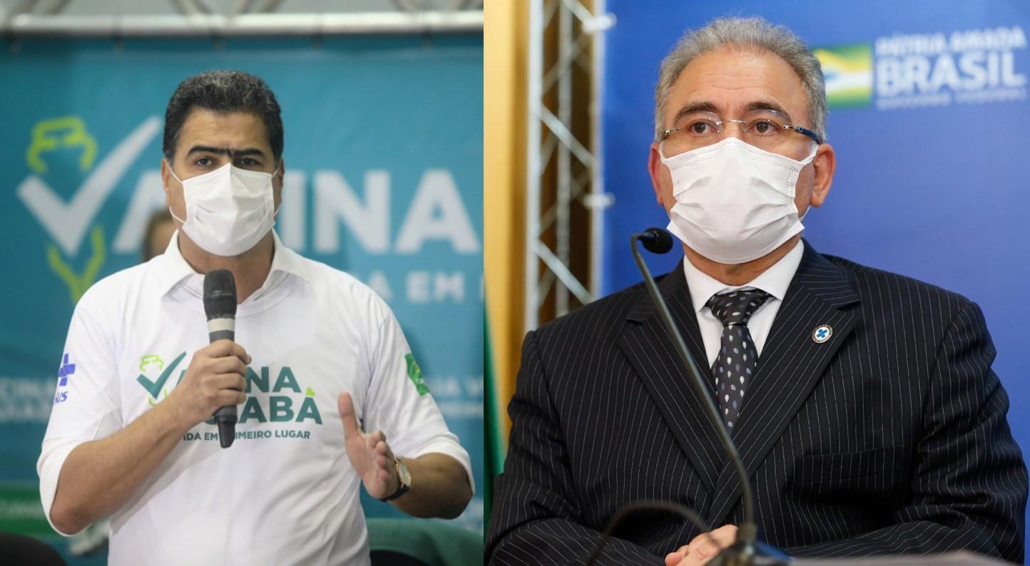 Resposta do ministério da Saúde sobre vacinação em massa da população de Cuiabá será dada nesta sexta-feira (11)