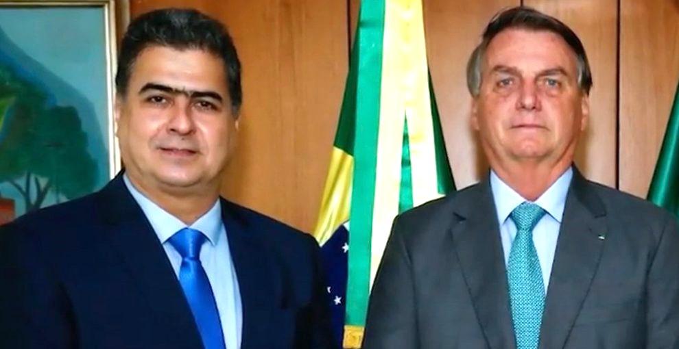 De olho na Copa América, Emanuel Pinheiro solicita à Bolsonaro vacinação em massa da população de Cuiabá