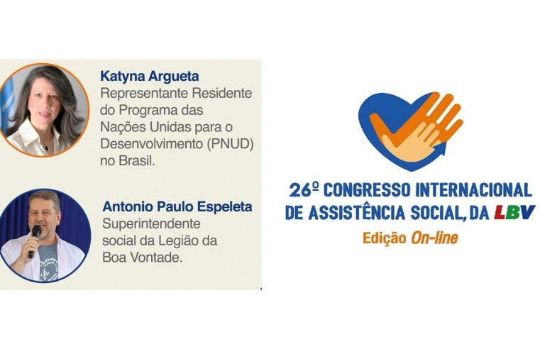 Representante do Programa das Nações Unidas fará palestra inaugural do Congresso Internacional da LBV
