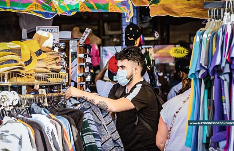 Comerciante segue otimista em Cuiabá e final do ano deve ter aumento de vendas