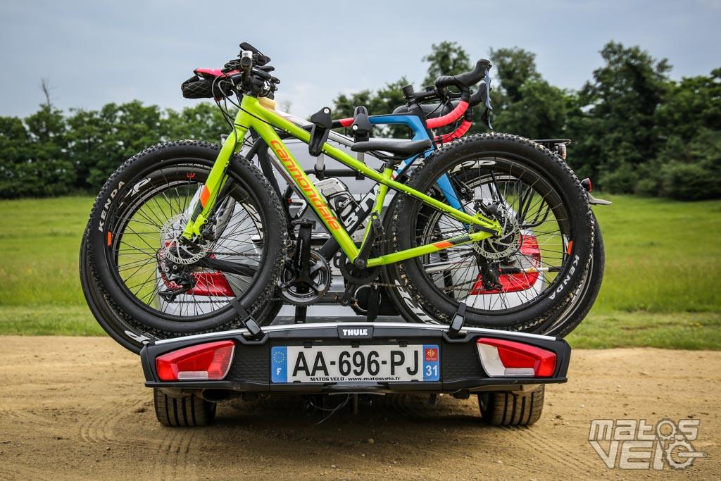 test du porte velos sur attelage thule velospace xt 3 voire 4 velos matos velo actualites velo de route et tests de materiel cyclisme