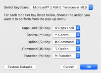 Scult mac settings