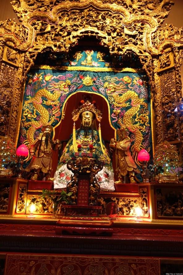 Petit temple chinatown