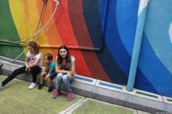 street art enfants