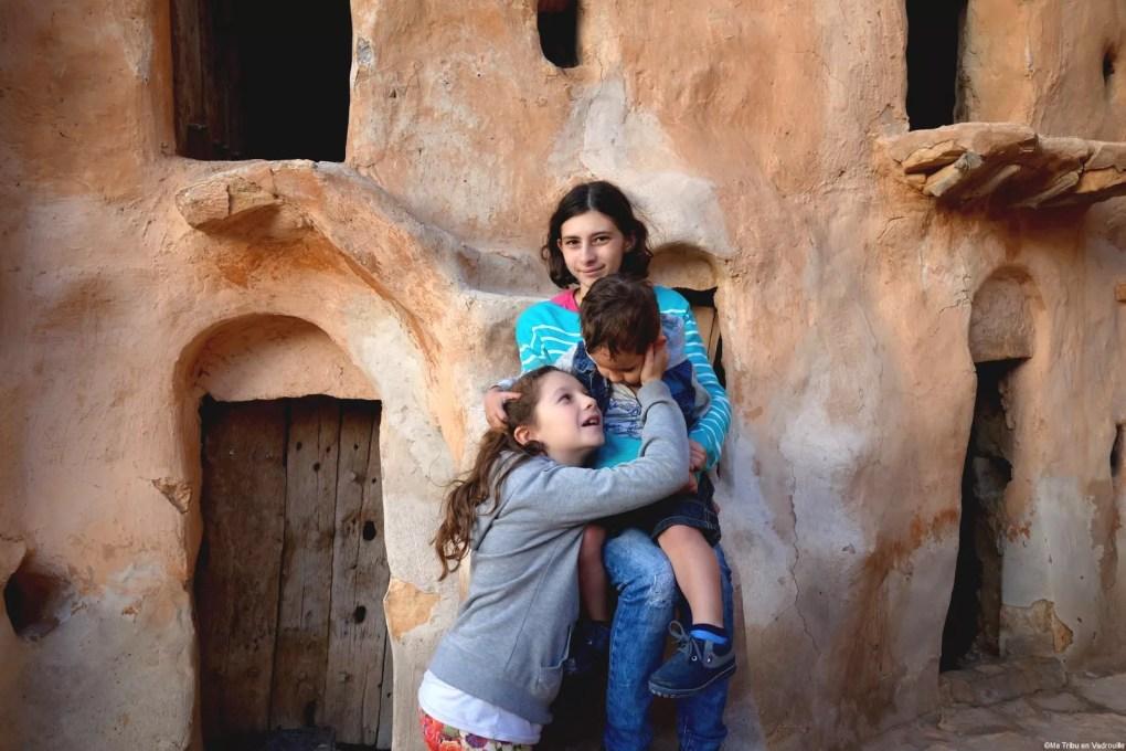 enfants nomades