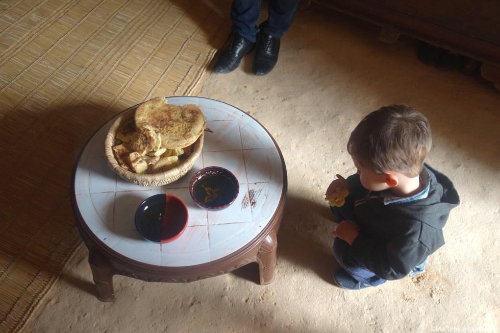 dégustation de pain tunisien