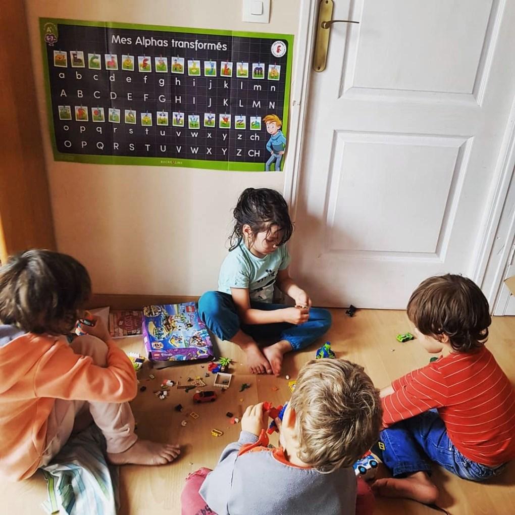 jeux en groupe