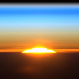 Sunrise From the International Space Station
