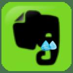 Sad Evernote Elephant