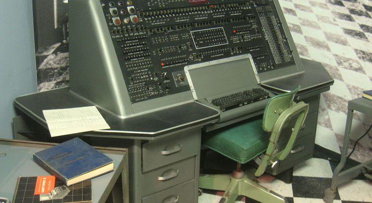 Univac I Controller's Console