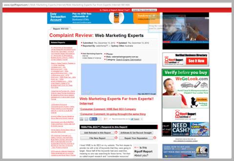 Web marketing experts - Won