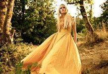 abito sposa giallo