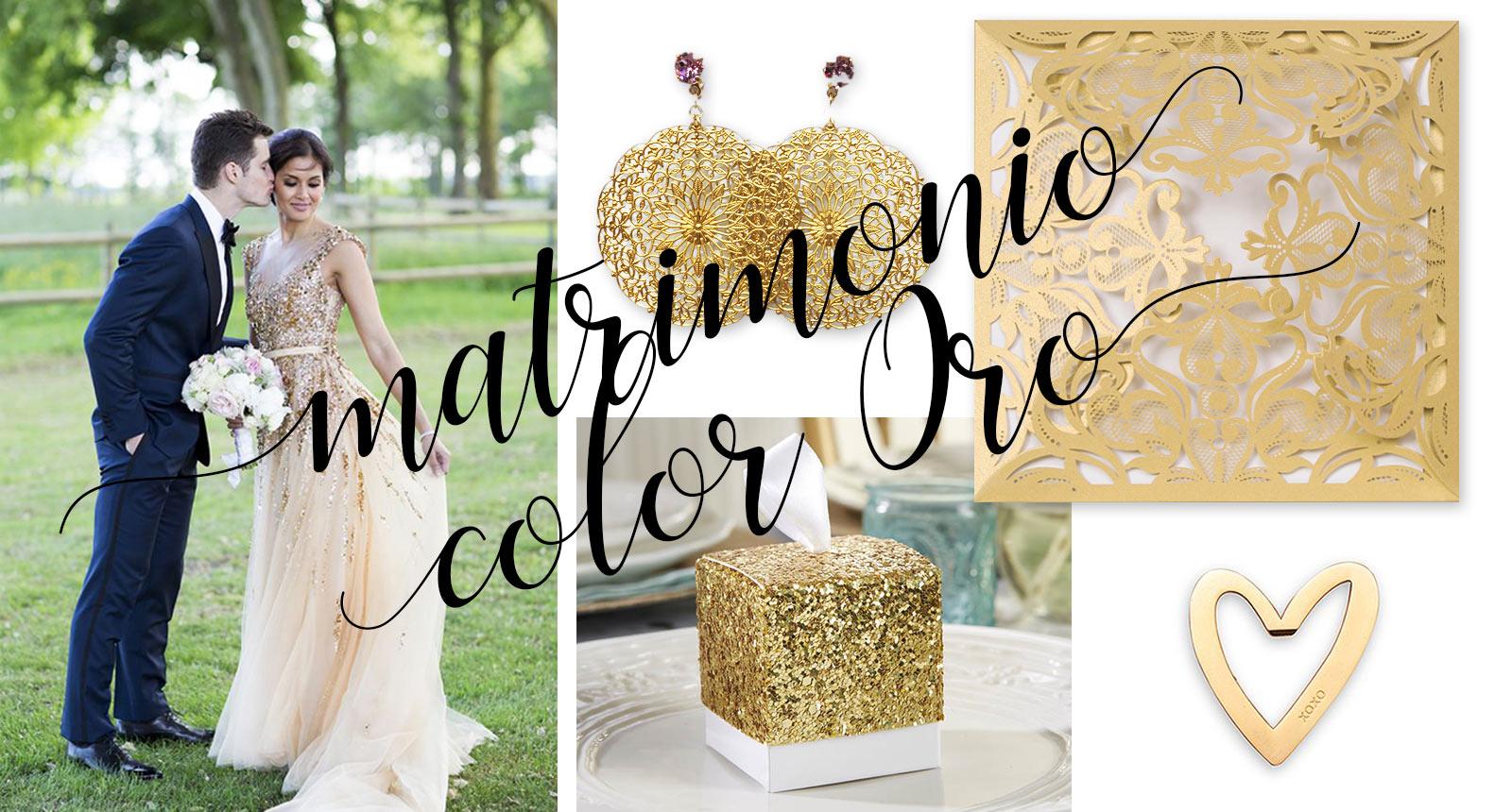 Matrimonio Oro E Azzurro : Matrimonio color oro il colore della gioia e ricchezza