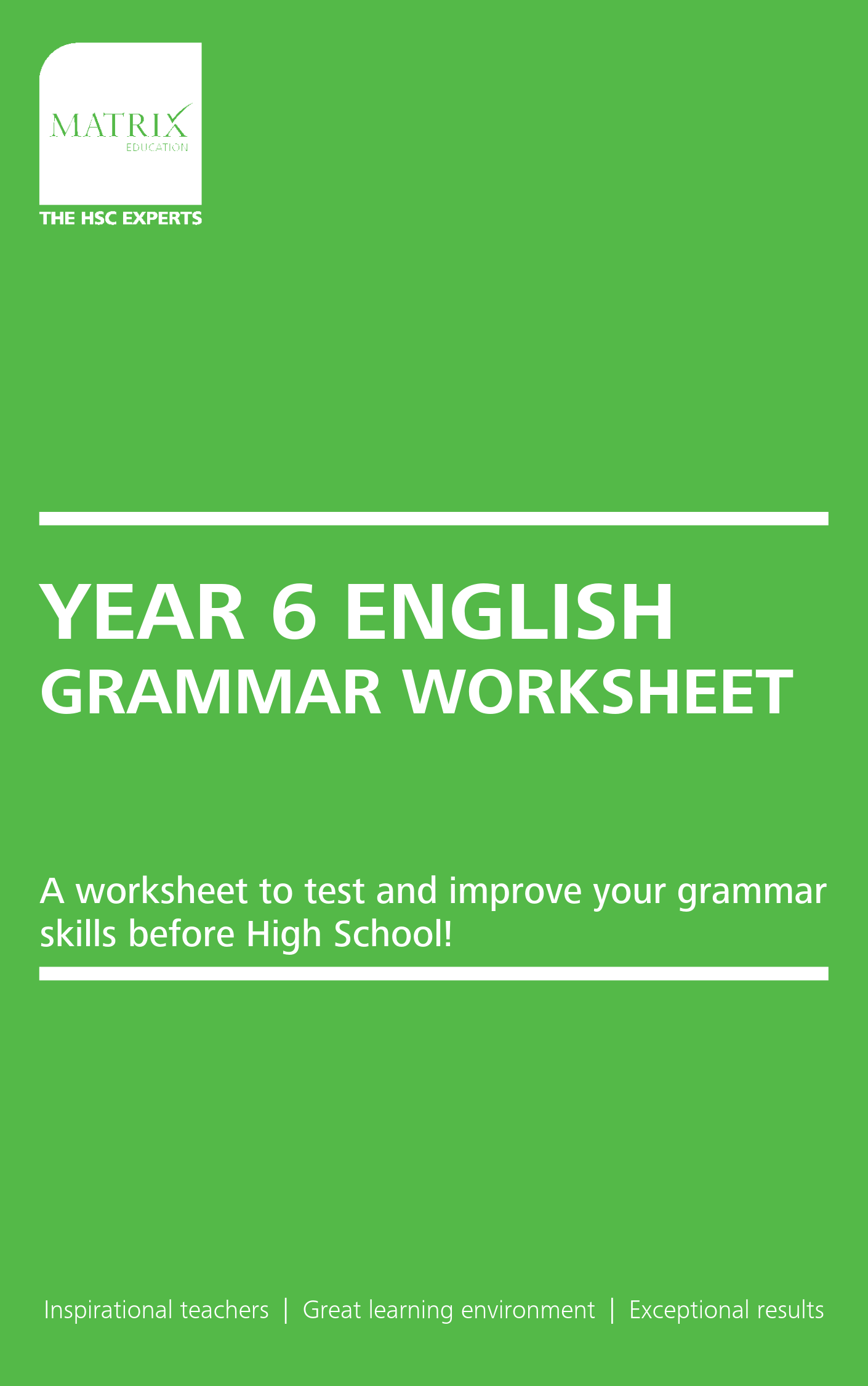 7 Grammatical Mistakes Year 6 Students Must Fix