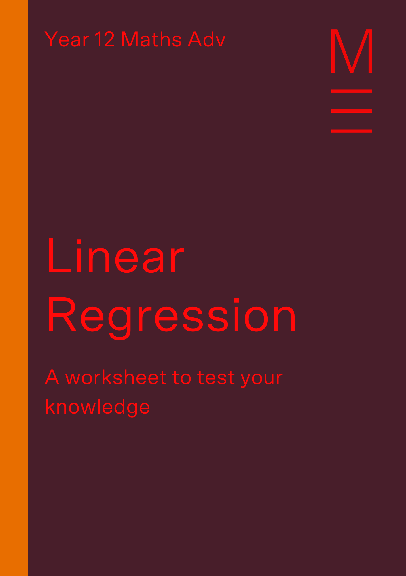 Part 3 Linear Regressions