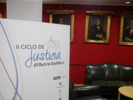 """Ciclo de Justicia """"El Norte de Castilla"""""""