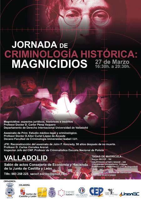 Jornada sobre Criminologia Historica