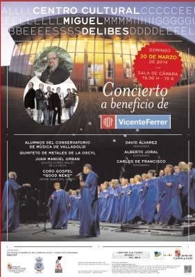 Concierto benéfico a favor de la Fundación Vicente Ferrer