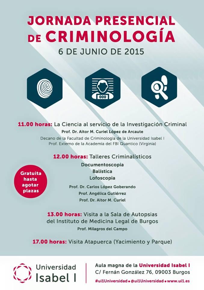 Jornada de criminología