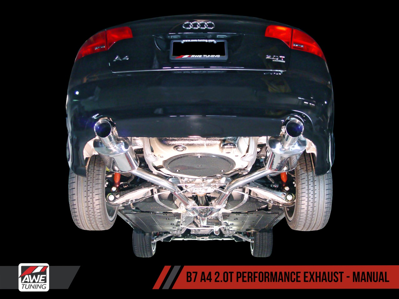 AWE Tuning's Exhaust - Matrix Integrated