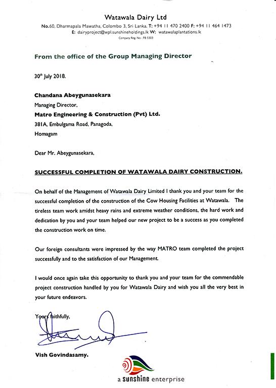 Sunshine Holdings GMD Testimonial
