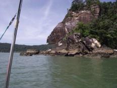 Mesti naik bot kalau nak masuk Taman Negara Bako