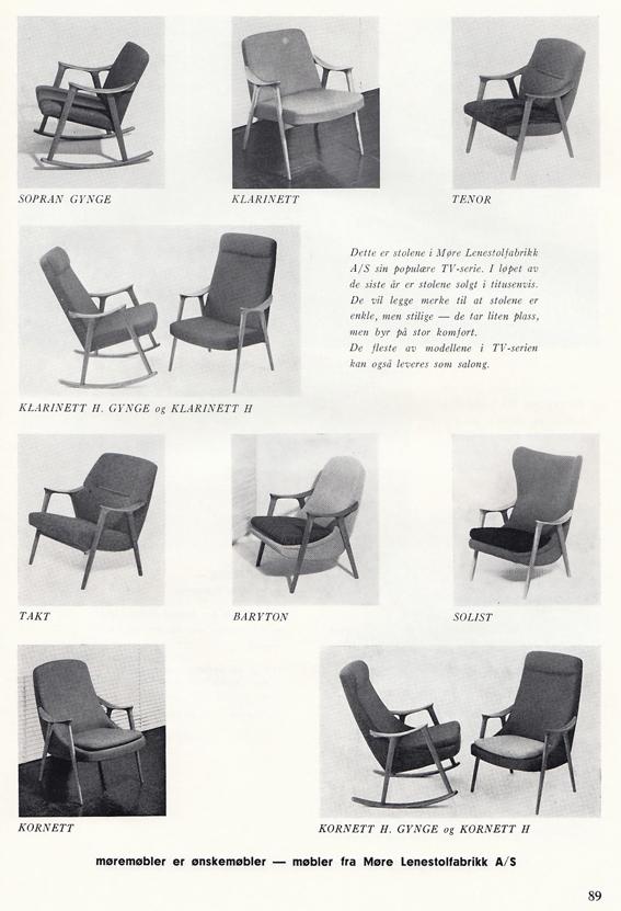 Fra Møbelhandleren 3/1962.